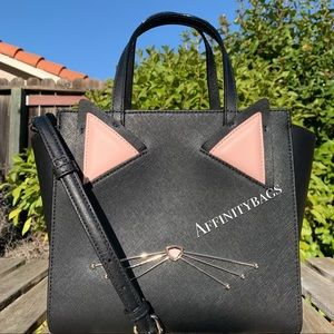 NEW bag Kate spade small Hayden jazz things up Cat